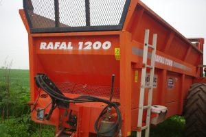 Remorcă împrăștiat gunoi Sodimac Rafal 1200